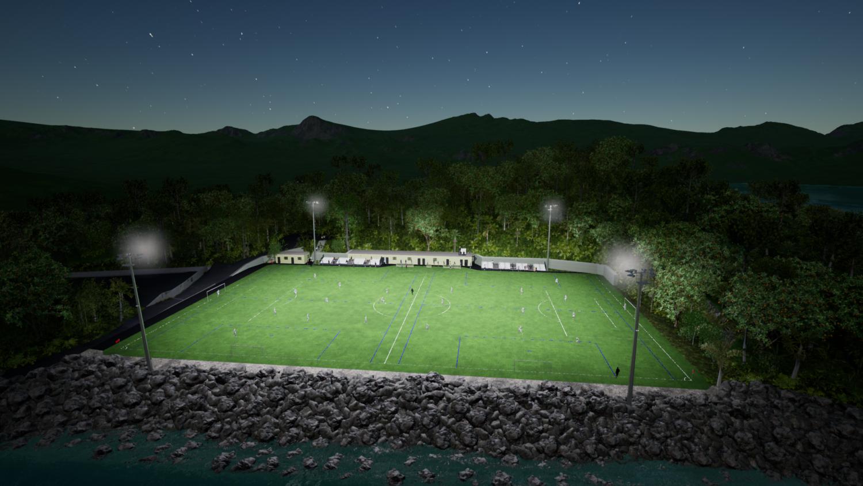 Éclairage sportif et de grands espaces